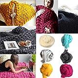 Pelote de laine épaisse et super douce Igemy, pour tricot, crochet F