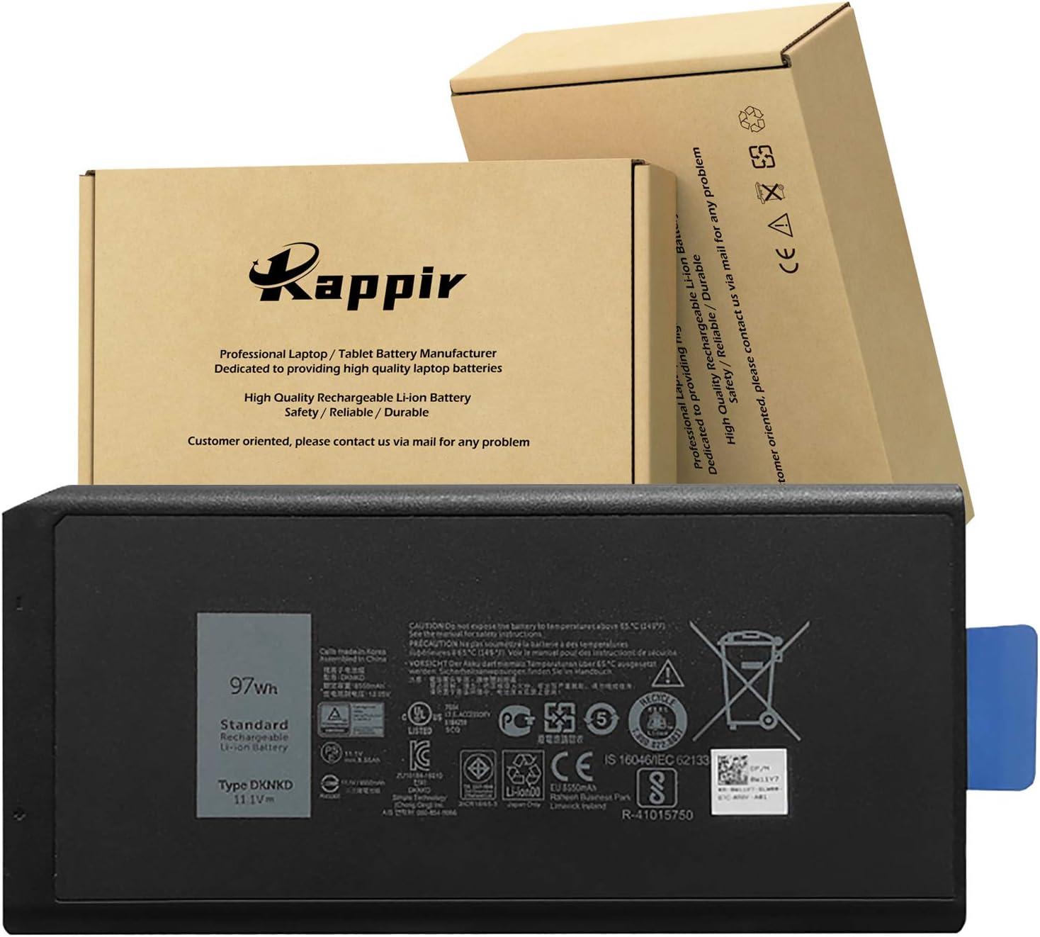 BOWEIRUI DKNKD (11.1V 97Wh) Laptop Battery Replacement for Dell Latitude 14 5404 7204 7404 E5404 E7204 E7404 Series Notebook X8VWF 4XKN5 CJ2K1 5XT3V VCWGN XN4KN XRJDF YGV51 0W11V7 453-BBBE
