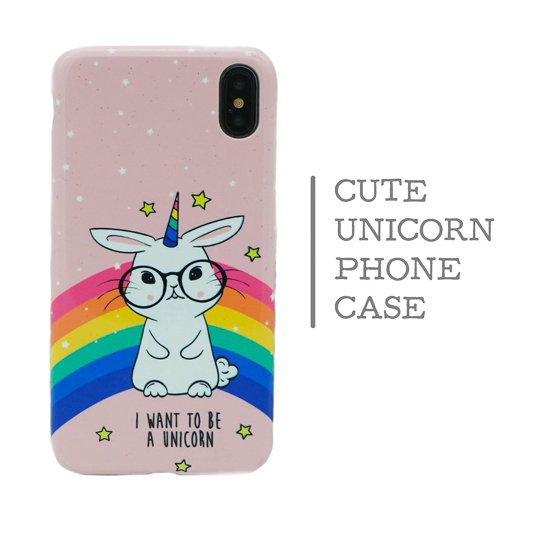 Cute Unicorn Galaxy iPhone X Case