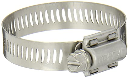 Breeze Power-Seal Stainless Steel Hose Cl& Worm-Drive SAE Size 28  sc 1 st  Amazon.com : large stainless steel hose clamps - www.happyfamilyinstitute.com