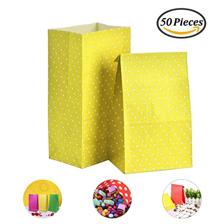Amazon Paper Party Bags Niceeshoptm50pcs Party Gift Paper