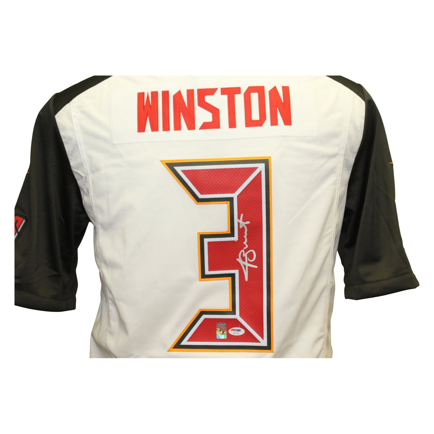 8e1a9390b20 Jameis Winston Autographed Signed Tampa Bay Buccaneers Nike On Field Jersey  - PSA/DNA Authentic at Amazon's Sports Collectibles Store