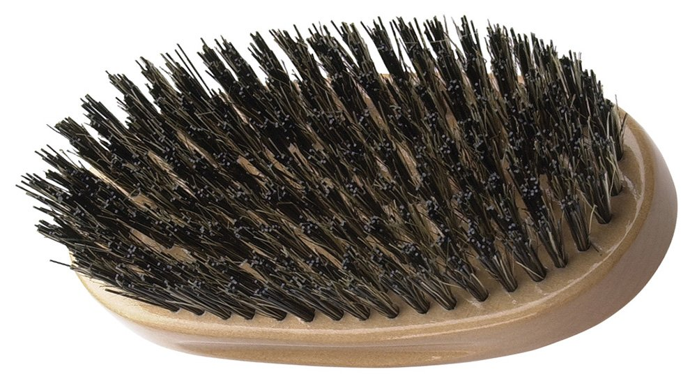 Fromm International Diane Palm Brush, Extra Firm Reinforced Boar Bristles D8157