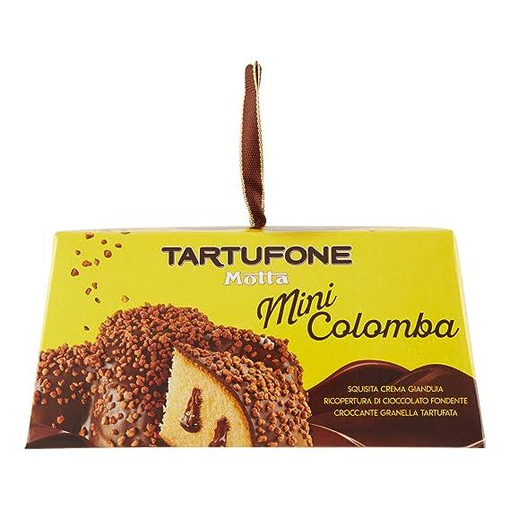 1 X Mini Colomba Tartufone Cioccolato Gianduia Motta 120 Gr Pasqua