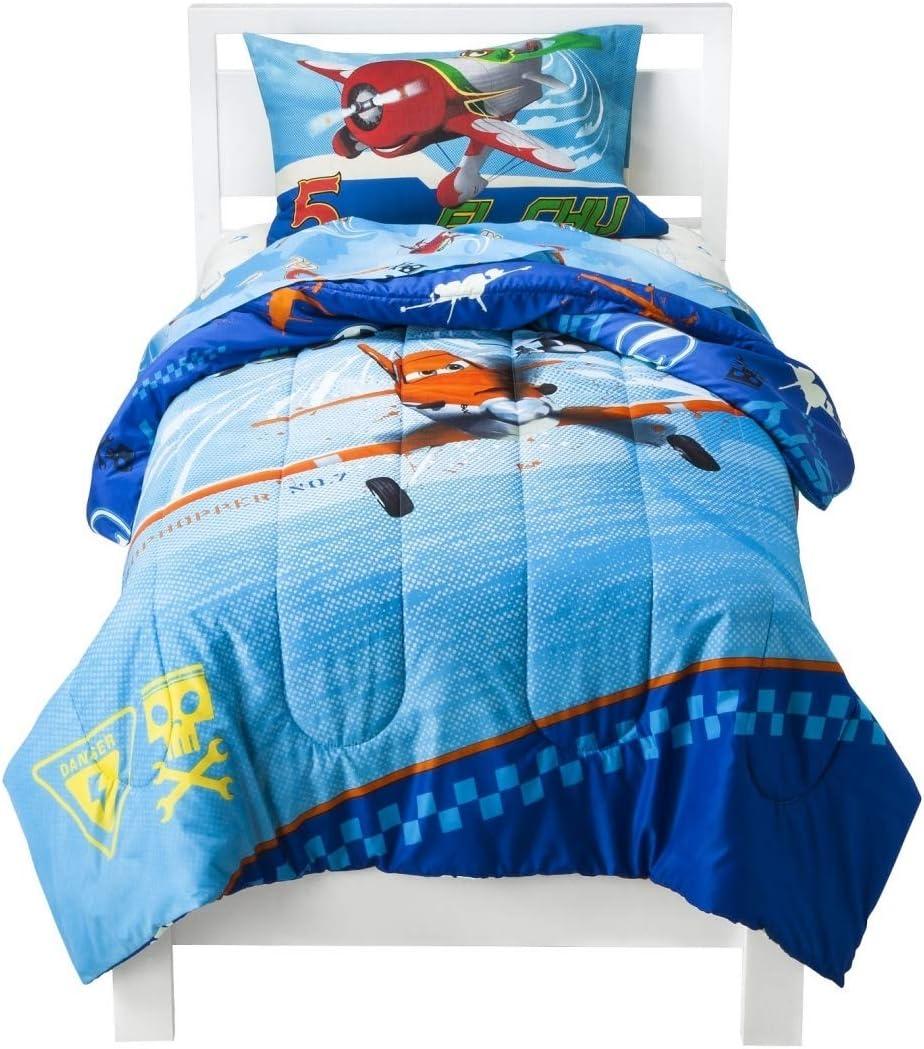 Disney Pixar Planes Comforter, Twin, Blue