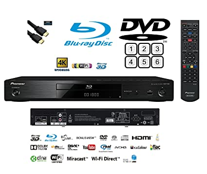 728c24abd Pioneer Multiregion BDP-180 3D Blu-ray/DVD: Amazon.co.uk: Electronics