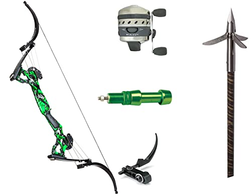 Oneida Eagle Bows Osprey Bowfishing Muzzy Package, Right Hand