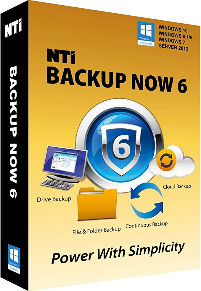 Amazon Com Nti Backup Now Pro 6 5 Pcs The Best Buy Award Winning Backup Software For Office Pcs Available In Download And Cd Rom