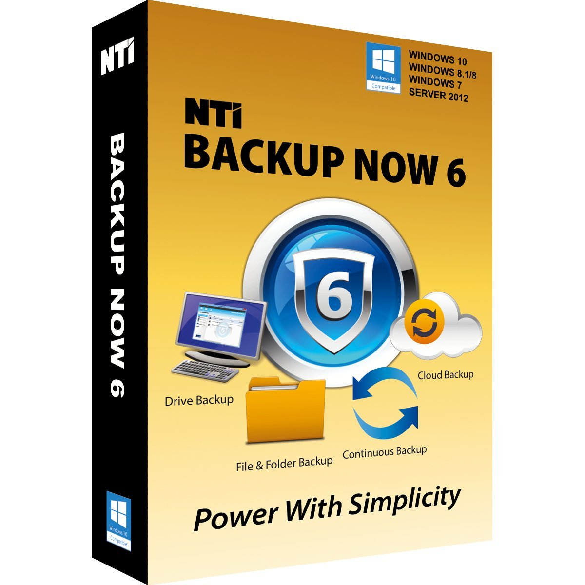 "NTI Backup Now 6 (2-PCs). The ""Best Buy"" Award-winning Backup Software for Office PCs"