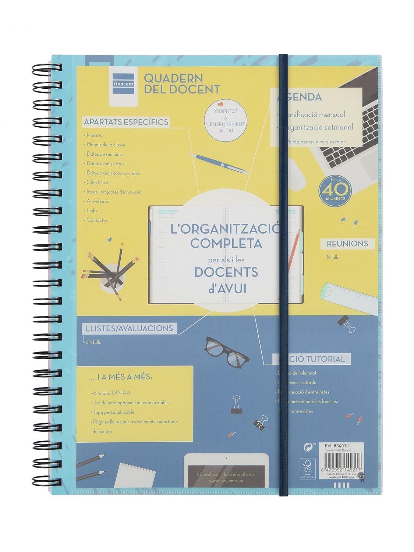 Finocam Cuaderno del Docente - Agenda, 310 x 230 mm Cabero Group 1916 5340001