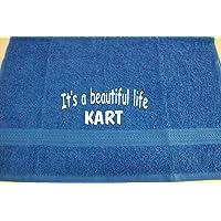 It's a beautiful life - Kart; Badetuch Sport