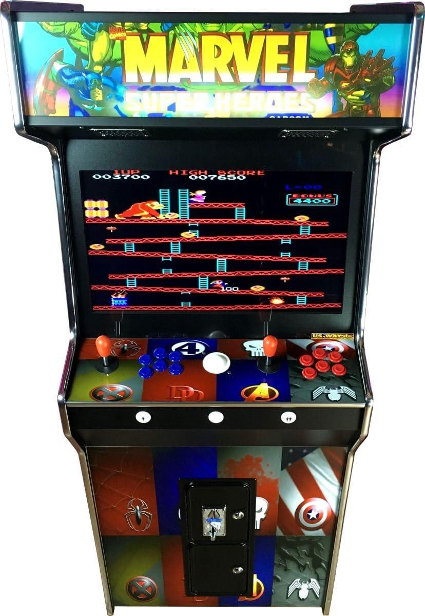 US-Way e.K. G-966M Arcade - Máquina de vídeo para videojuegos ...