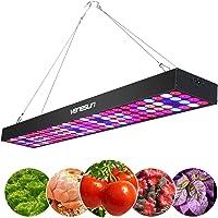 Venesun 100W LED Grow Light Full Spectrum Panel Growing Lamp for Hydroponic Indoor Plants Veg and Flower