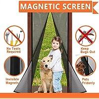 Cortina mosquitera magnética para puertas, Mosquitera Magnética 90