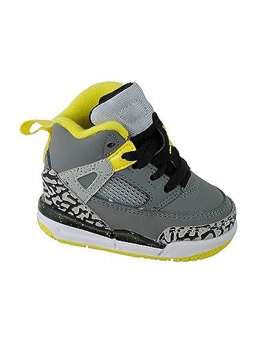 4ae197b9c6de2 Nike AIR JORDAN SPIZ IKE (TD) Baskets Enfant 317701-075-26 - 9 Gris ...