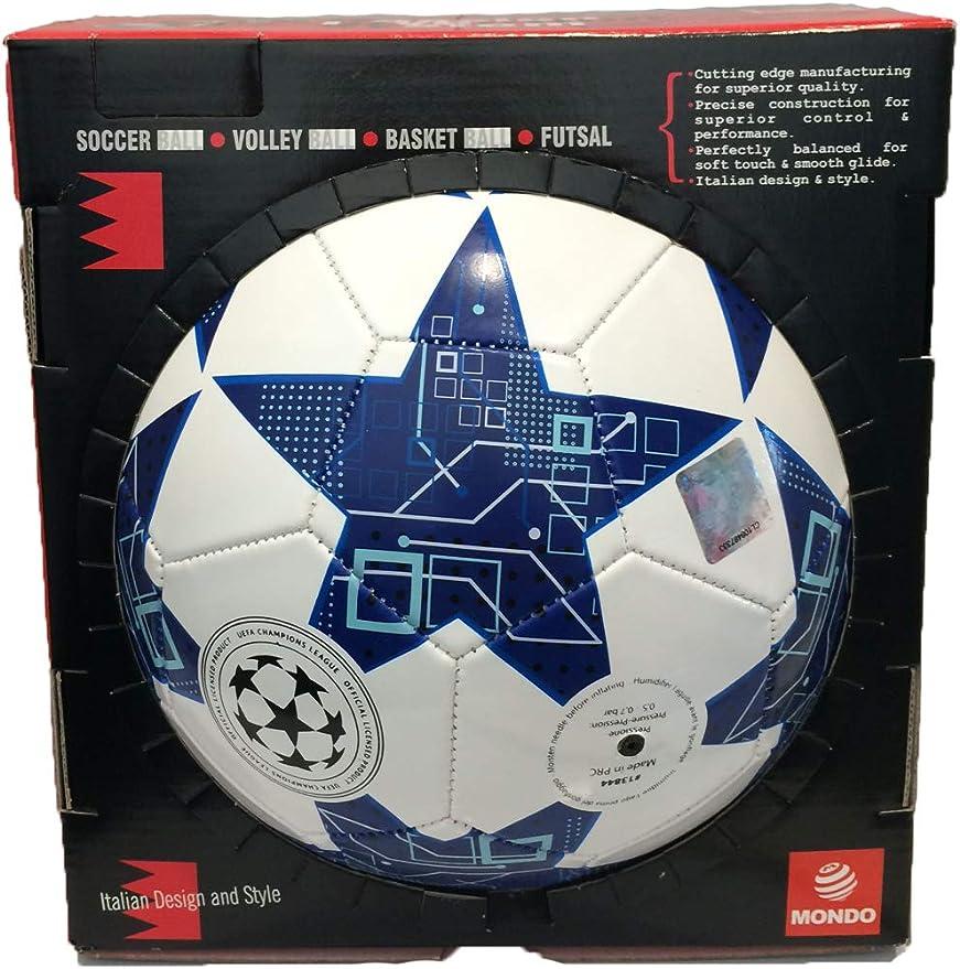 Mondo UEFA Champions League Leather Football in Gift Box,AC Milan ...