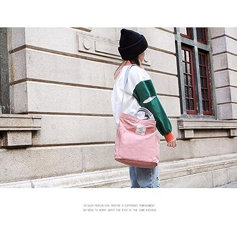 a semplice donna Tela solido Bag Tote Borsa colore da Design qZvOBwxp
