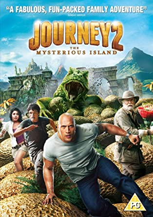 Journey 2: The Mysterious Island [DVD]: Amazon co uk: Dwayne