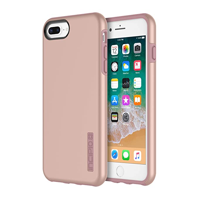 sale retailer ecd35 768a0 Incipio DualPro iPhone 8 Plus & iPhone 7/6/6s Plus Case with  Shock-Absorbing Inner Core & Protective Outer Shell for iPhone 8 Plus &  iPhone 7/6/6s ...