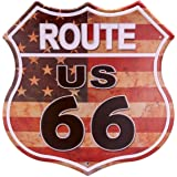 Amazon.com: Ruta 66 America Highway Tin Sign 13 x 16 en ...