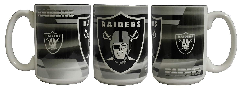 Memory Company NFL Oakland Raiders 15oz Shadow Mug