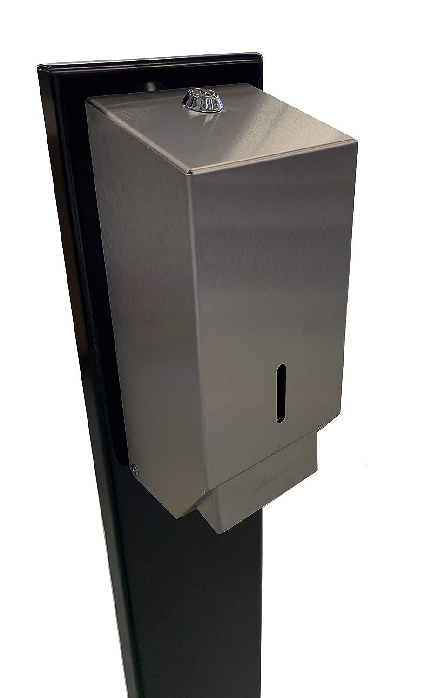 free-standing outdoor or indoor sanitizer dispenser stand station, Soap /& Sanitiser Dispenser Stand Station for offices businesses stores