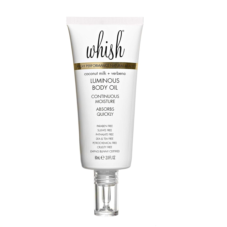 Whish Beauty Coconut Milk And Verbena Luminous Body Oil