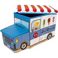 Bieco 04000510 Icecreme - Caja de almacenamiento infantil
