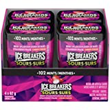 ICE BREAKERS Sours Mints, Berry Splash Flavour, Sugar Free, 82g (4 Pack)