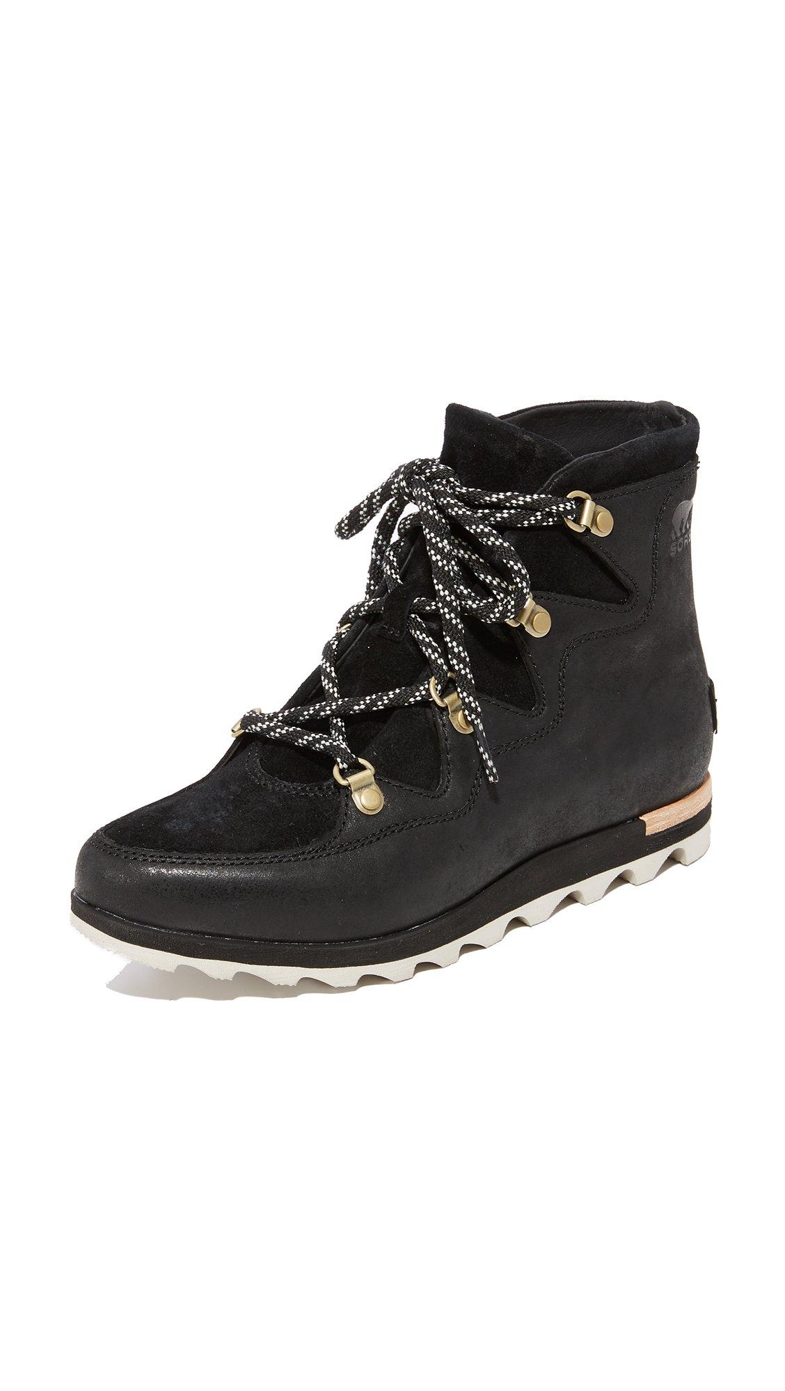 Sorel Women's Sneakchic Alpine Booties, Black, 8.5 B(M) US by SOREL