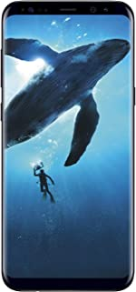 Samsung Galaxy S8 64GB Phone - 5.8in Unlocked Smartphone - Midnight