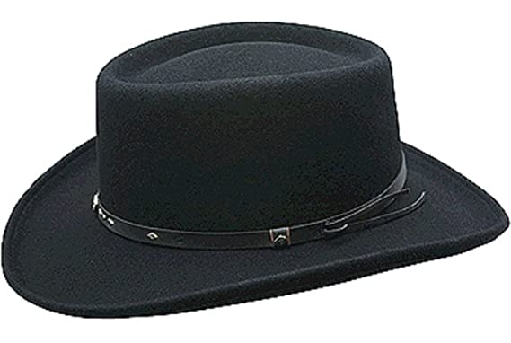 e1851dd5e848d6 Conner Hats Men's Quincy Wool Gambler Hat at Amazon Men's Clothing ...