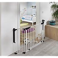 van Hoogen® Discovery | novità innovativo | cancelletto di sicurezza per porte | barriera protettiva | divisorio | 80-125 cm | in 2 colori e dimensioni | bambini | cani | sicurezza certificata