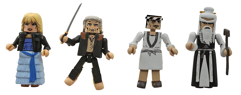 Diamond Select Toys Kill Bill 10th Anniversary Minimates Masters of Death Box Set