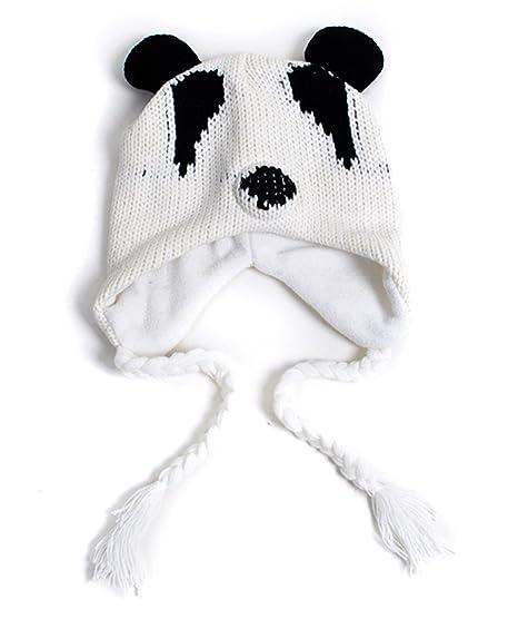 b6c975c4e Amazon.com: 'Hat-imals' Plush Knit Animal Winter Hats (Collection 3 ...