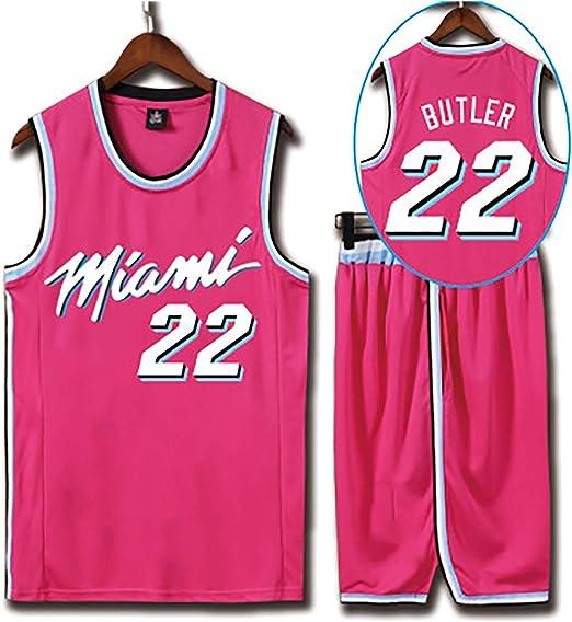 YUD Miami Heat edición Ropa de Baloncesto Local Nº 22 de ...
