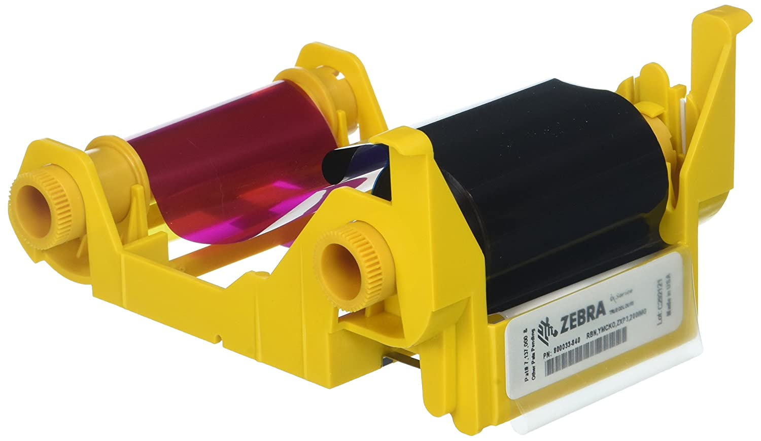 Zebra Technologies 800033-840 IX Series Color Ribbon for ZXP3 Card Printer GT0174