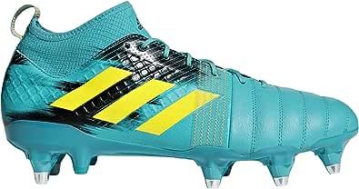 adidas Kakari X Kevlar (sg), Men's Rugby Shoes, Blue (Hiraqu/Shoyel/Cblack Hiraqu/Shoyel/Cblack), 12 UK (47 1/3 EU)
