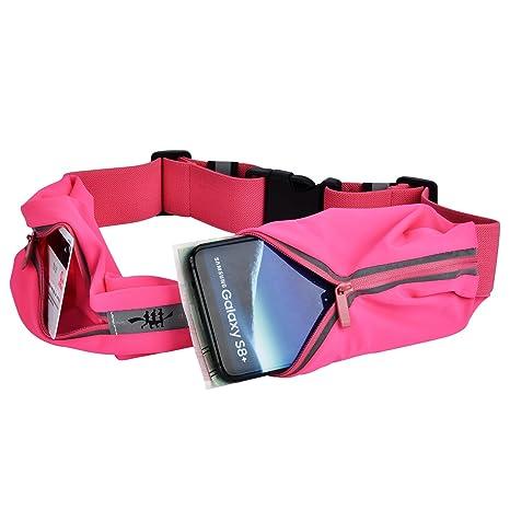 Running Belt   Ceinture de course Running Belt Sac Banane de Sport -  Portable Compatible avec 127828ec378