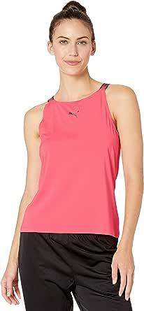 PUMA Womens Soft Sports Tank Top Sleeveless T-Shirt
