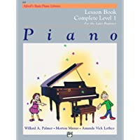 Alfred's Basic Piano Library Lesson Book Complete, Bk 1: For the Later Beginner