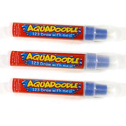 Aquadraw Aquadoodle New Replacement Water Pens 3 Pack