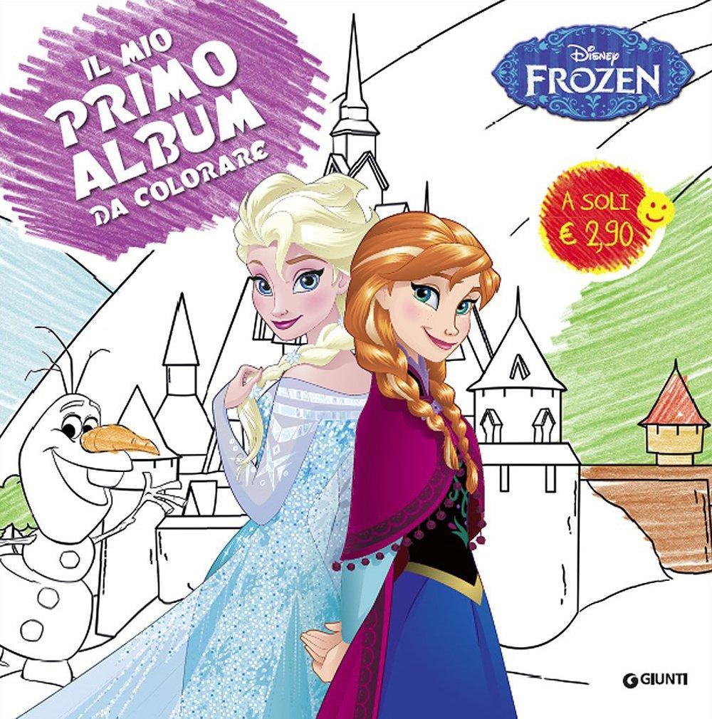 Disegni Da Colorare Frozen Al Computer.Amazon It Frozen Il Mio Primo Album Da Colorare Aa Vv Libri