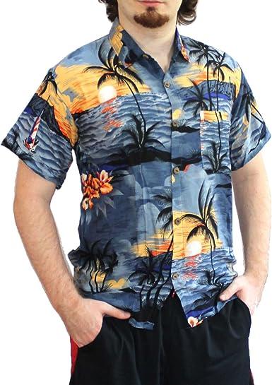 NEW TROPICAL ALOHA PRINT HAWAII SUB T-SHIRT REGULAR FIT /& SIZE TOP UP TO 6XL