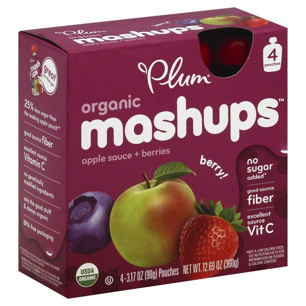 Plum Organics Mashups Mixed Berry 12.69 Ounce