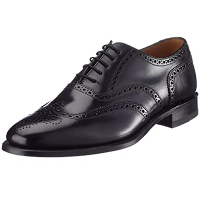 82929750db5 Loake Mens Formal Brogue Shoes Style - 202B Black Size UK 7G