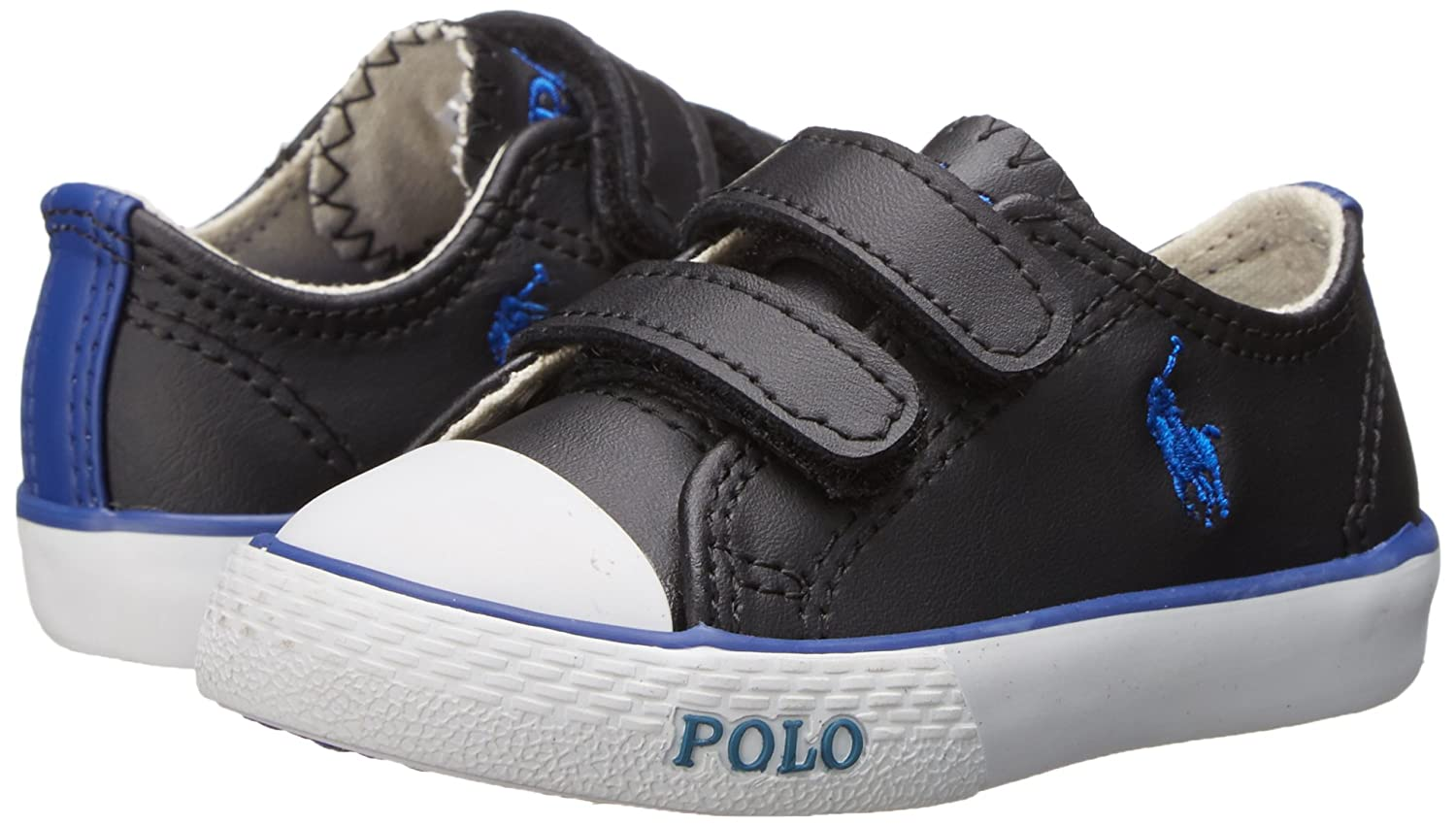 91a3362458 Polo Ralph Lauren Kids Carson II EZ Fashion Sneaker (Toddler)