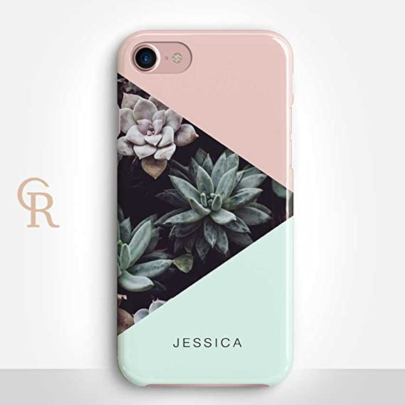 amazon com personalized succulent iphone 7 case by catching
