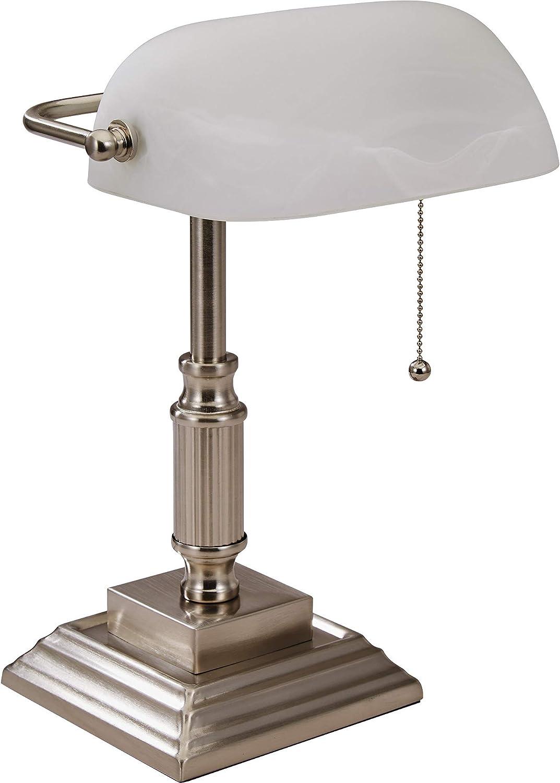 Lorell 99955 Classic Desk Lamp 15 X 6 5 Silver Home Improvement