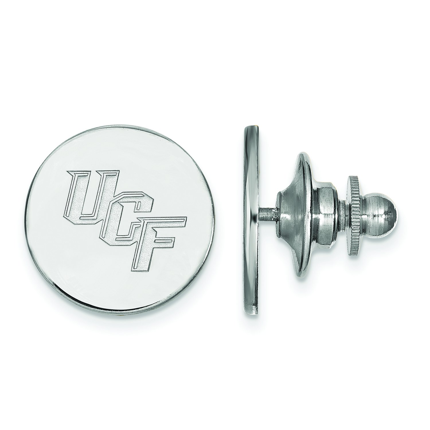 Central Florida Lapel Pin 14k White Gold